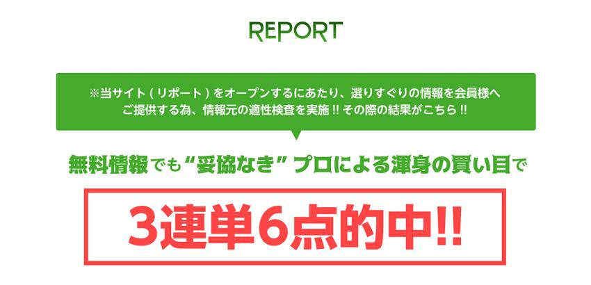 REPORT(リポート) 検証