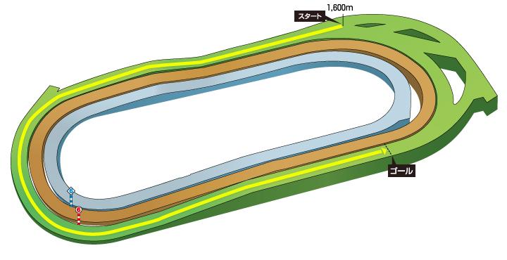 2019年 第8回アルテミスステークス コース特徴