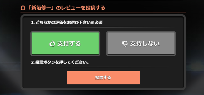 的中総選挙 会員ページ 検証