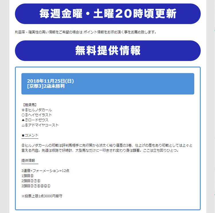 TURF VISION(ターフビジョン) 会員ページ 検証