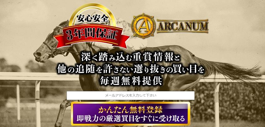 ARCANUM 検証